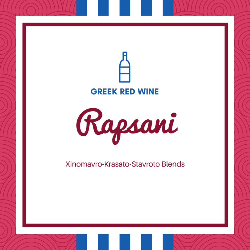Rapsani Wine blends