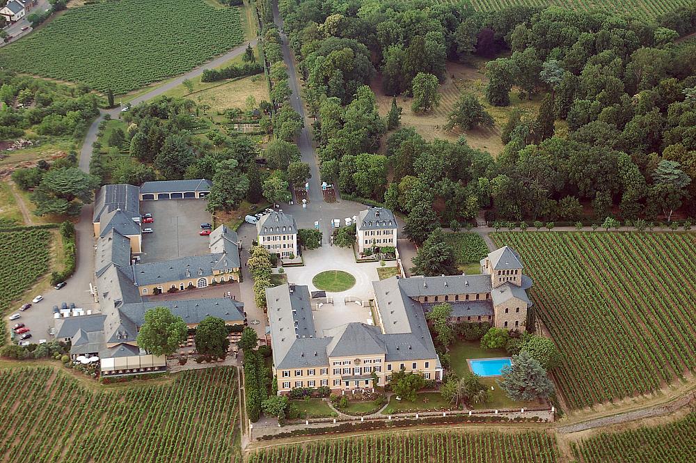 Schloss Johannisberg Oldest Wineries Aerial View