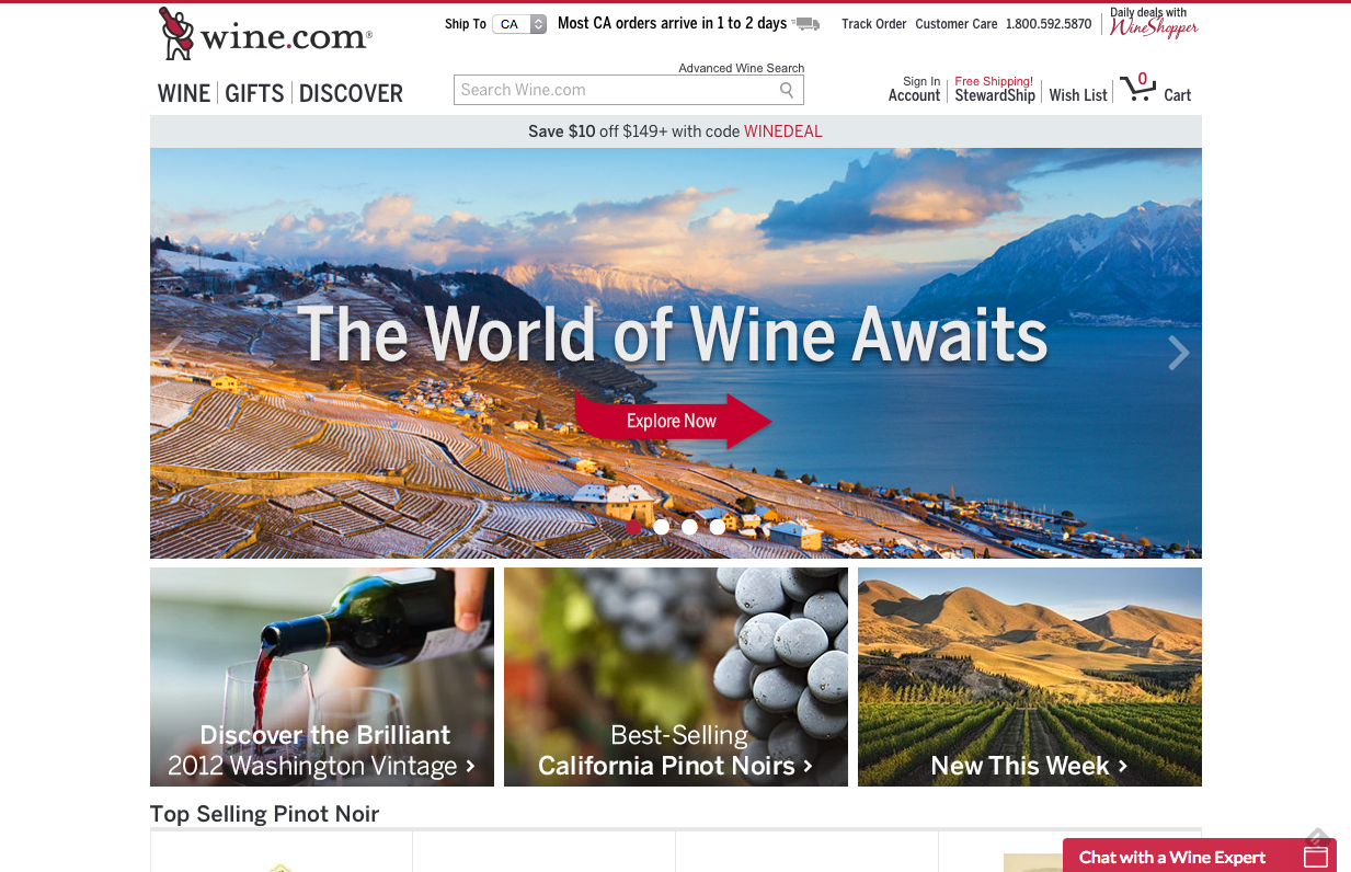 wine.com review buy wine online