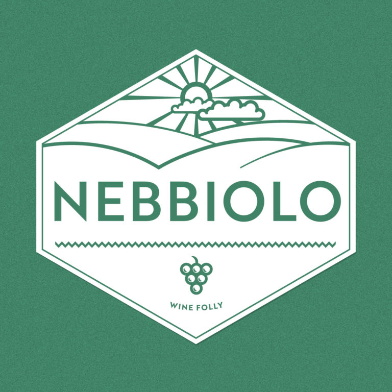 Seal of Nebbiolo - by Wine Folly