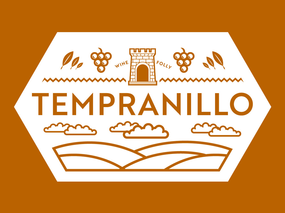 Tempranillo Wine Facts Seal