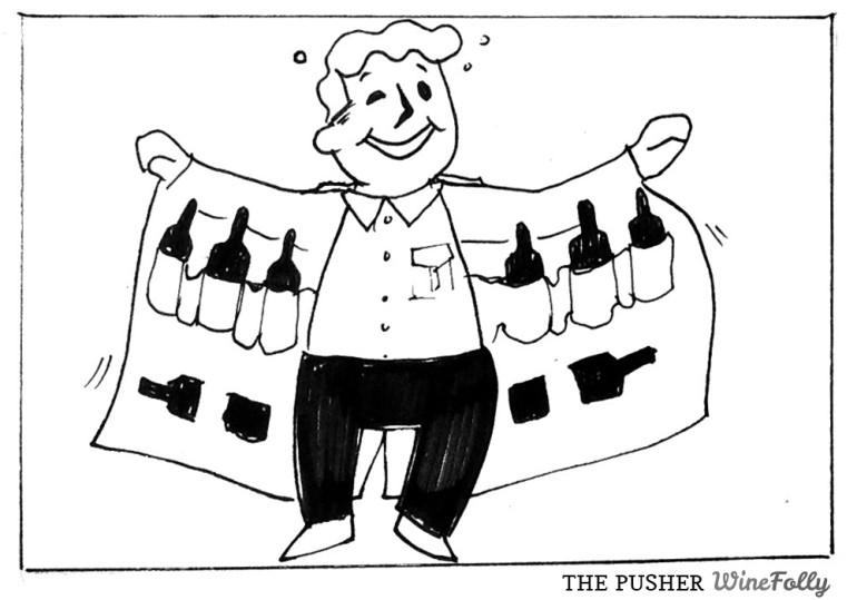 The Pusher Comic