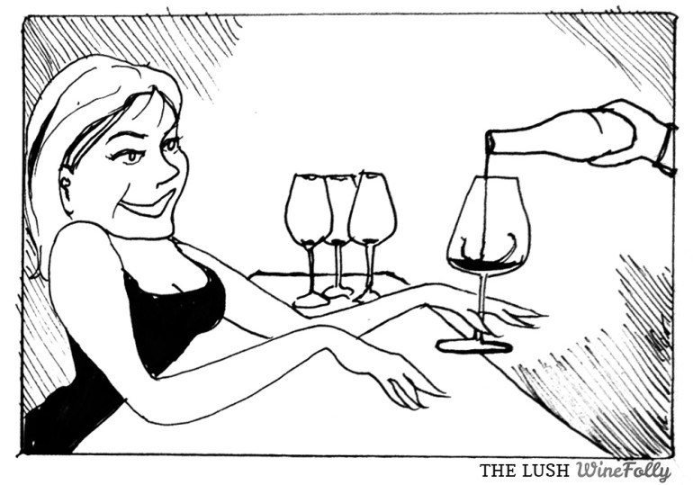 The Wine Lush Comic