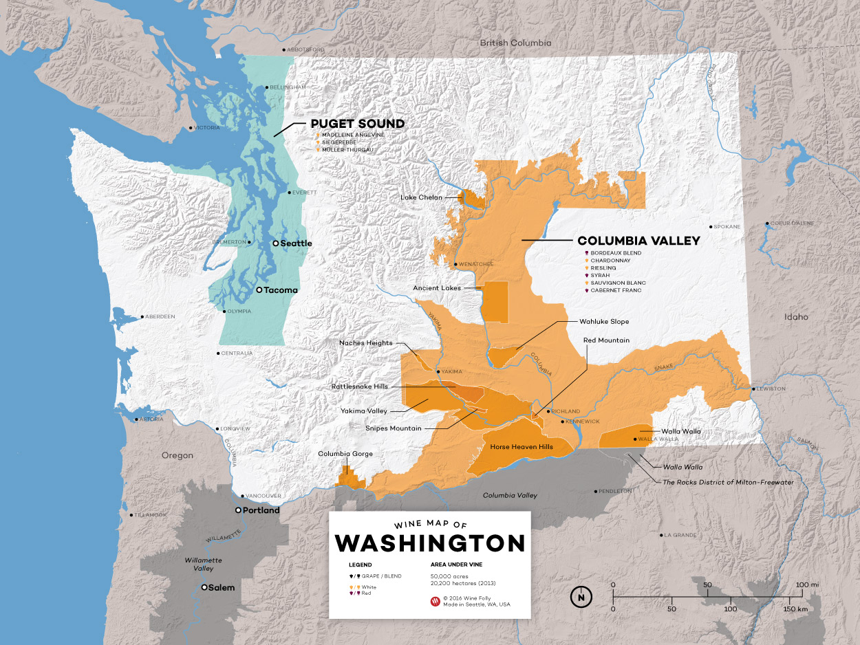 18 Washington Wines You Must Try | Wine Folly