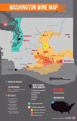Go to Washington Wine Country Map Article
