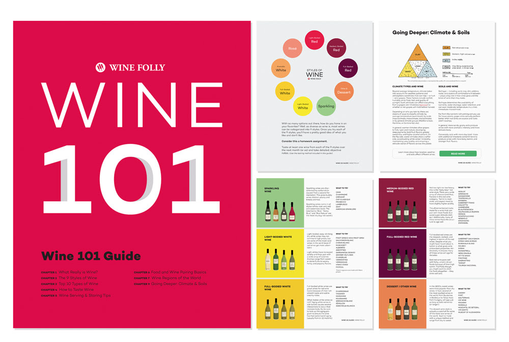 Complete Wine 101 Guide by Wine Folly | 2018