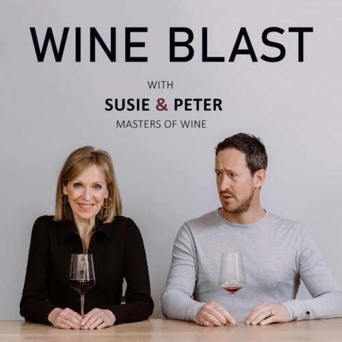 Wine Blast with Susie and Peter podcast logo