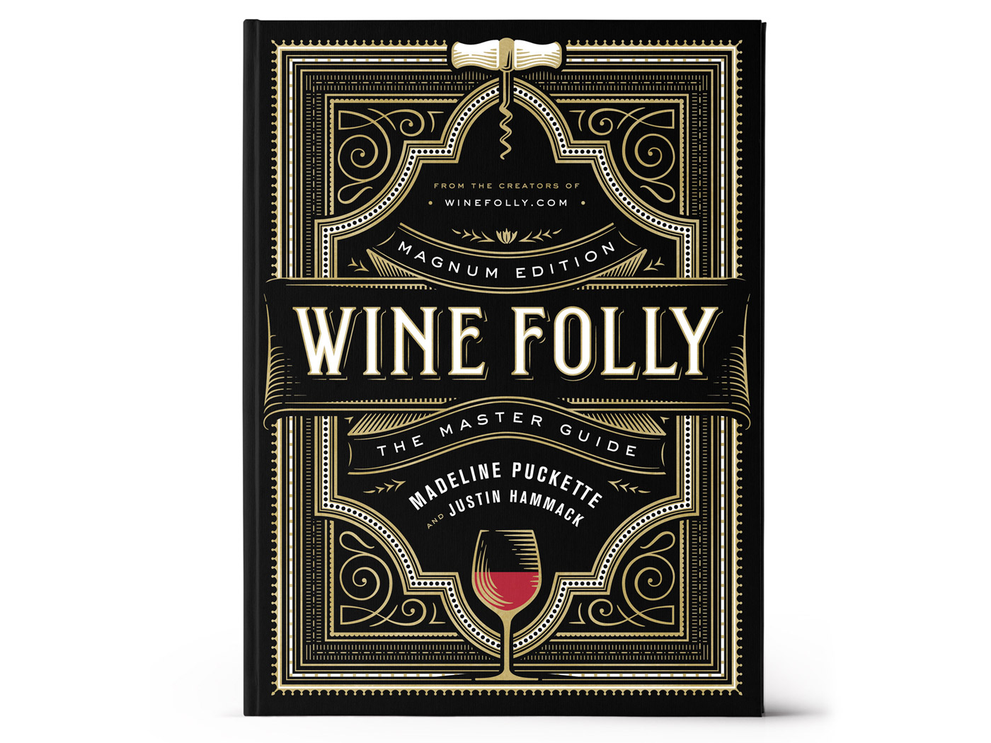 Wine Folly Magnum Edition: The Master Guide Book Hardcover Wide