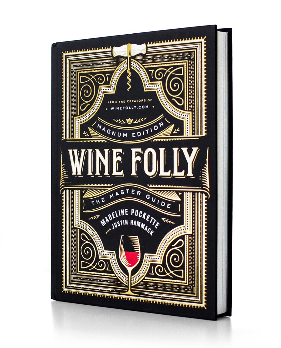 Essential Guide to Wine Wine Folly book NYT bestseller size medium on white background