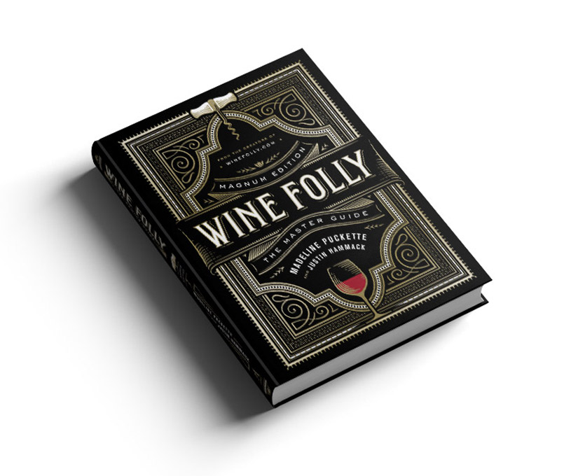 Wine Folly Magnum Edition front cover angle on white background