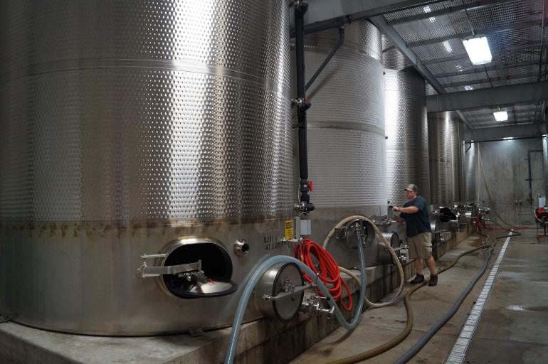 Stainless Steel Wine Aging Tanks