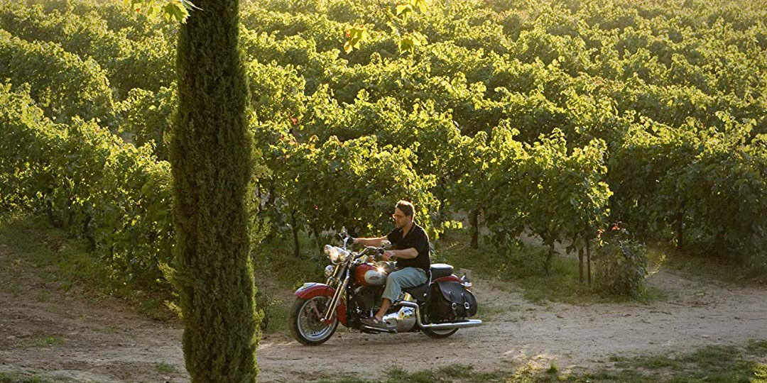 Russell Crowe in A Good Year wine movie