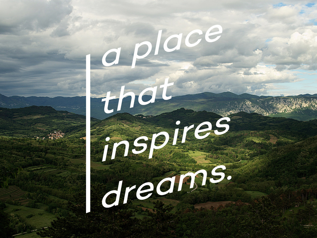 A place that inspires dreams