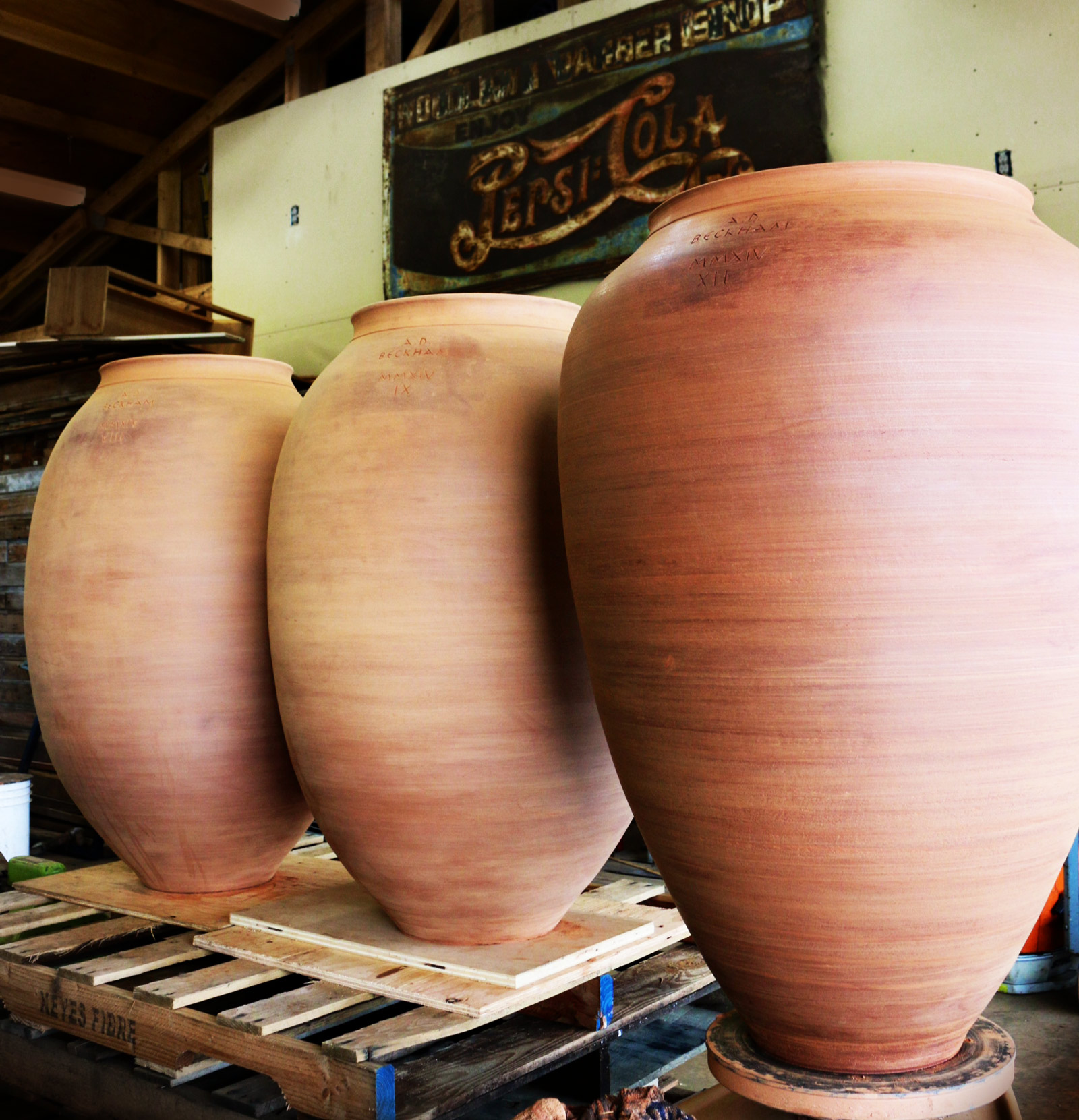 AD Beckham Amphora Wine Qvevri