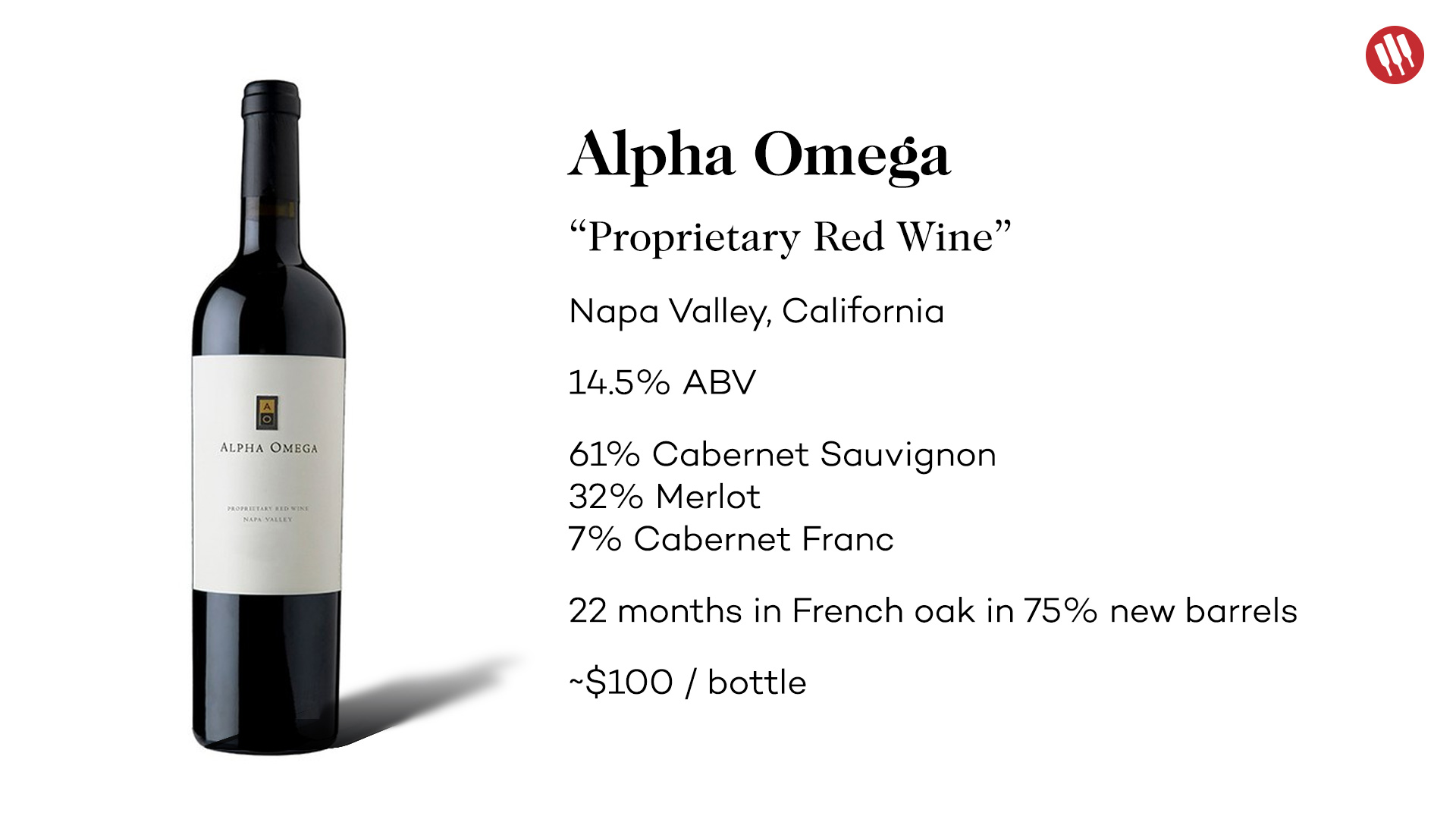 Alpha Omega Proprietary Red Wine 2013 Tasting Notes