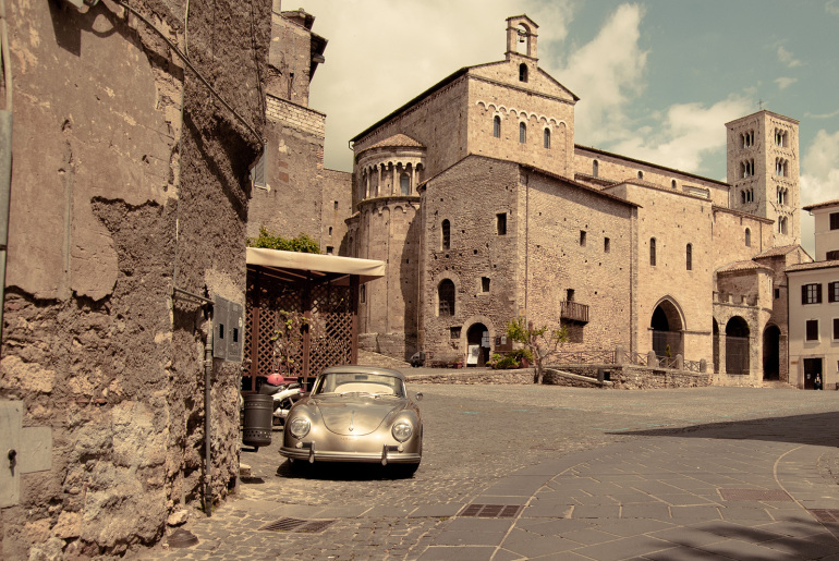 Anagni Medieval City Italy Rome