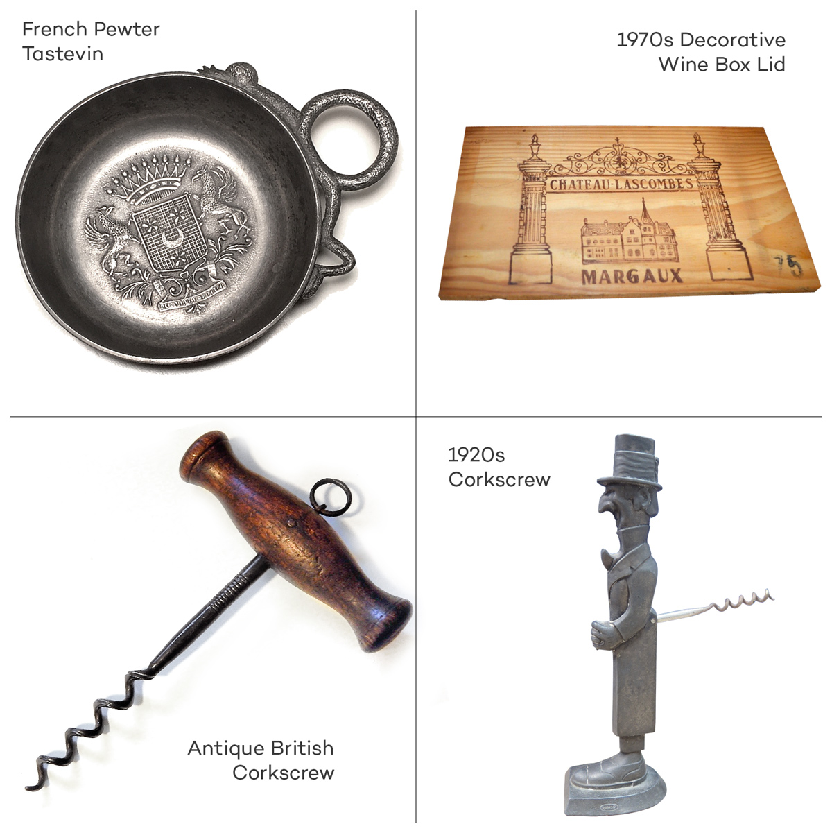 Antique Wine Tools and Gifts