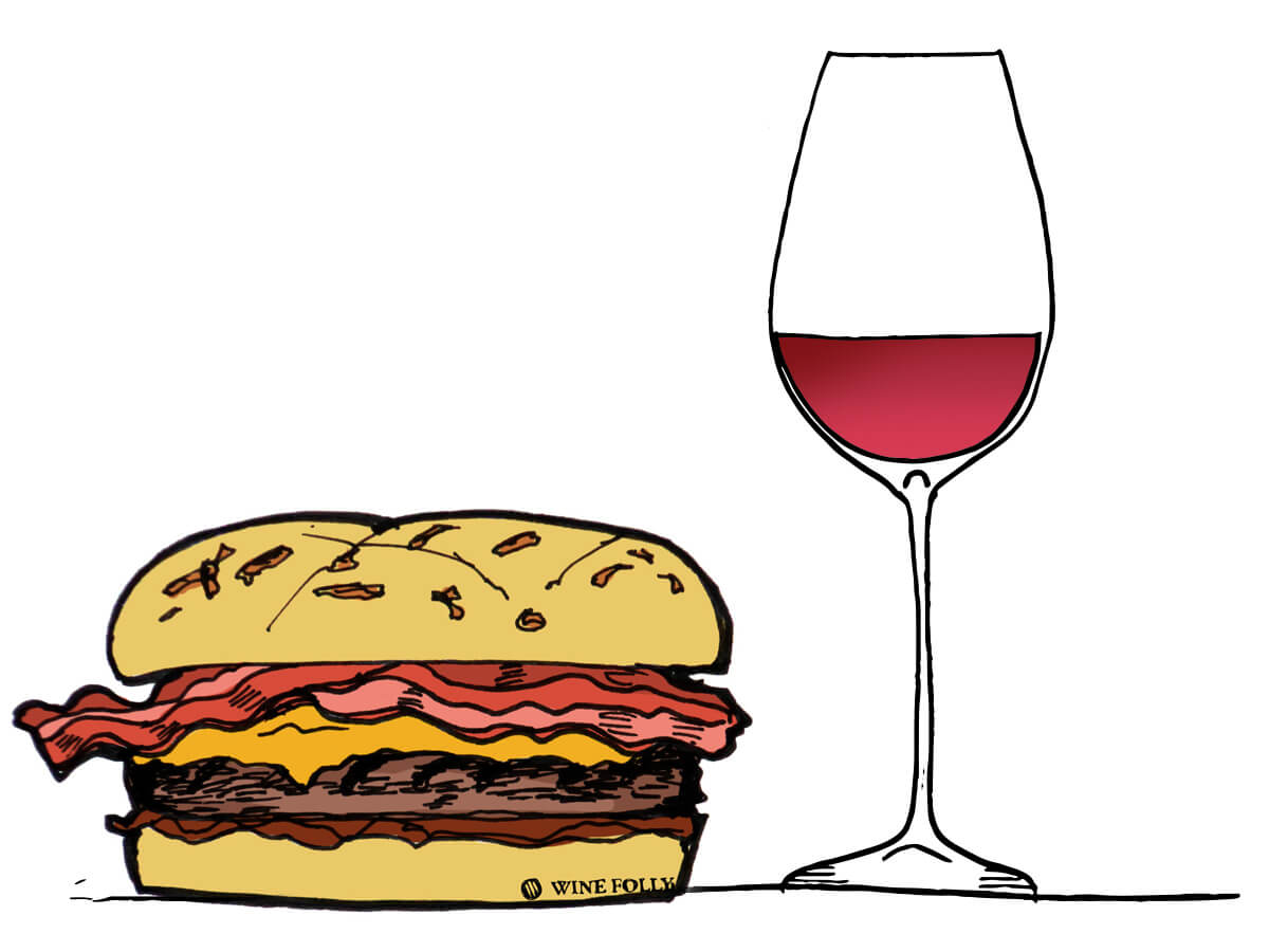 bacon-burger-wine-pairing-winefolly