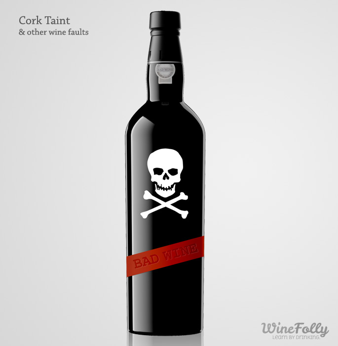 Wine faults ruin pretty wine