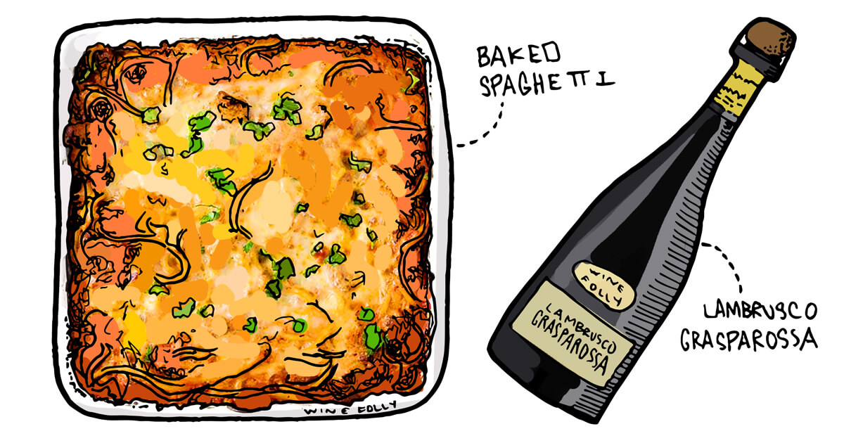baked-spaghetti-illustration-wine-pairing-winefolly2