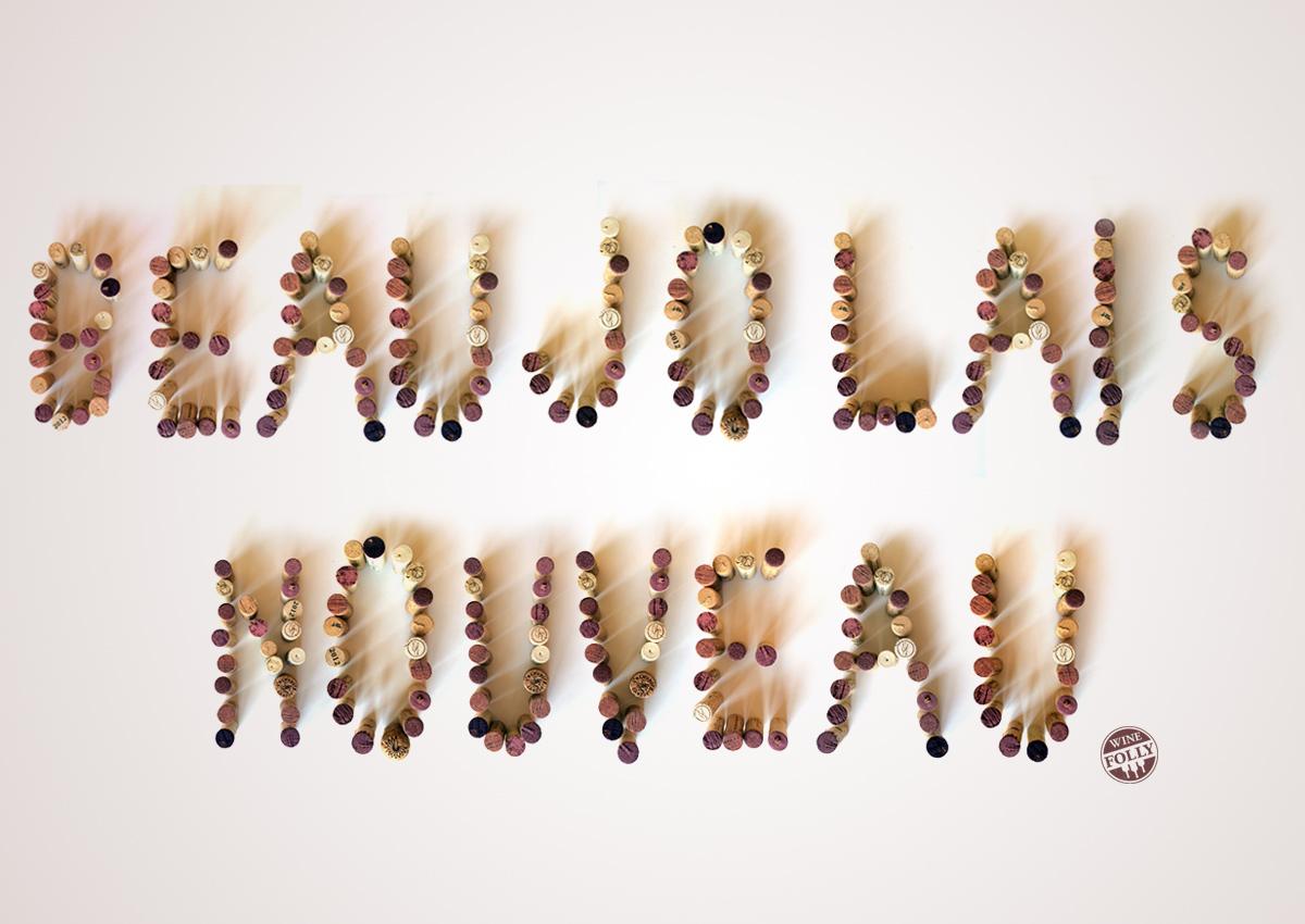 Beaujolais Nouveau Cork Letters Image by Wine Folly