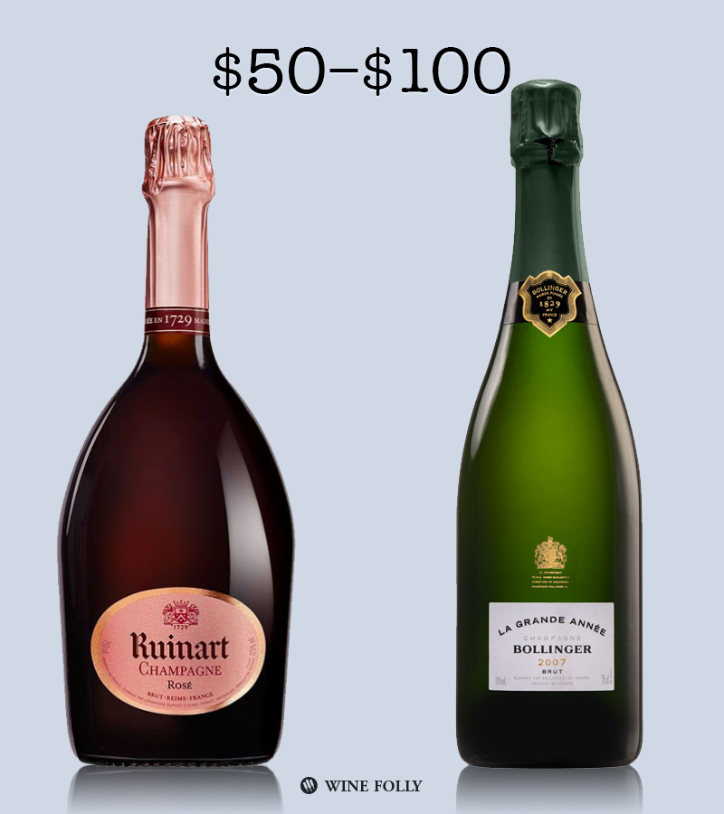 Great Champagne under 100 by Wine Folly