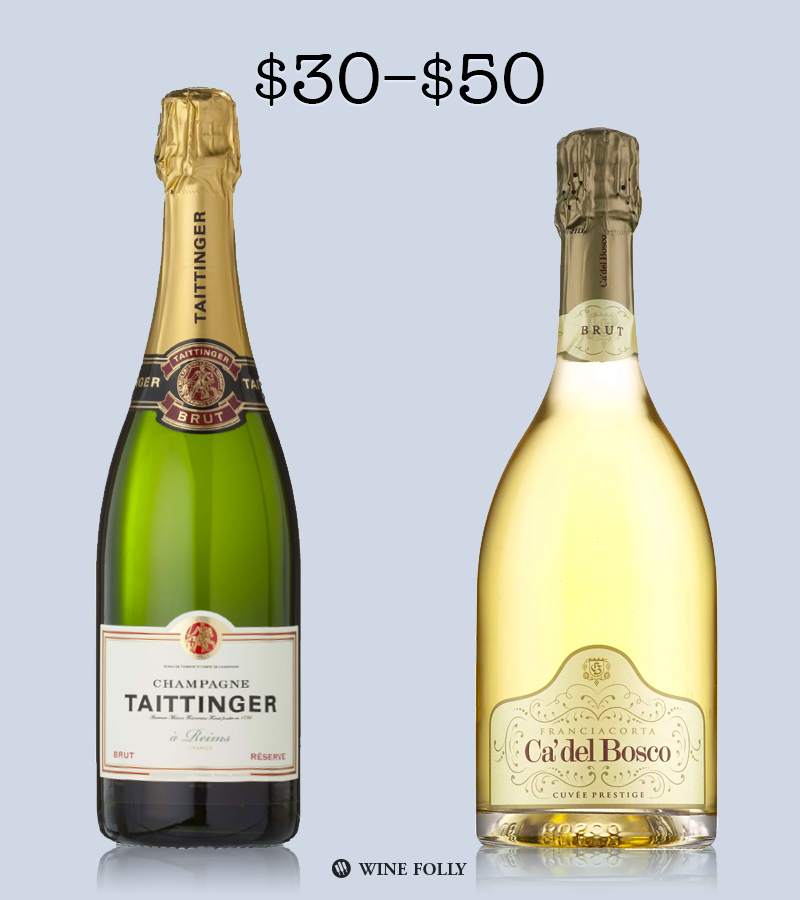 Best Champagne under 50 by Wine Folly