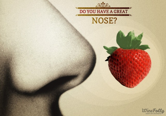 big-nose-profile-strawberry-old-time-illustration