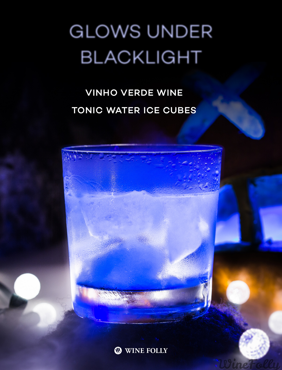 Black Light Wine Cocktail by Wine Folly