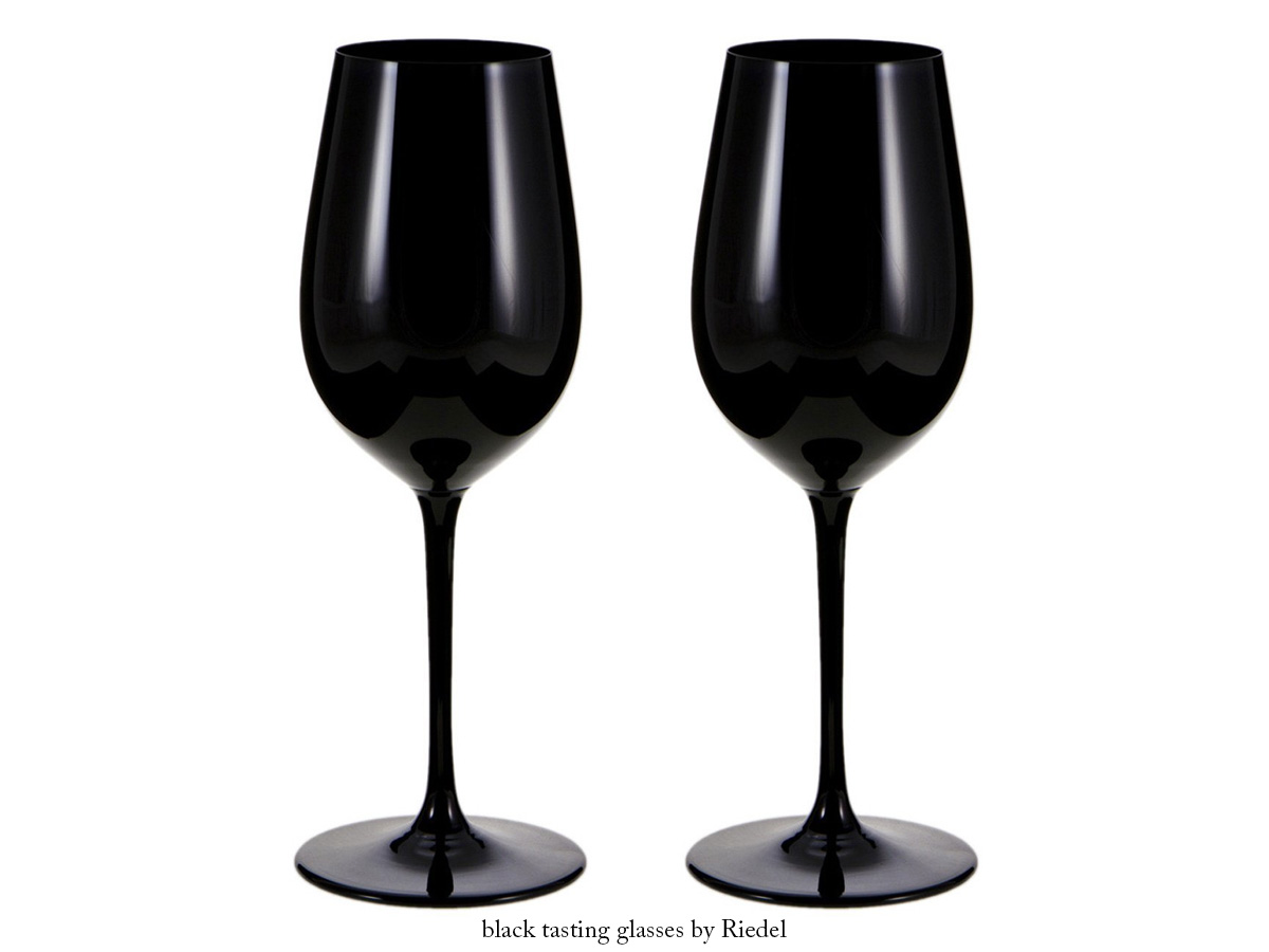 Black Tasting Glasses by Riedel