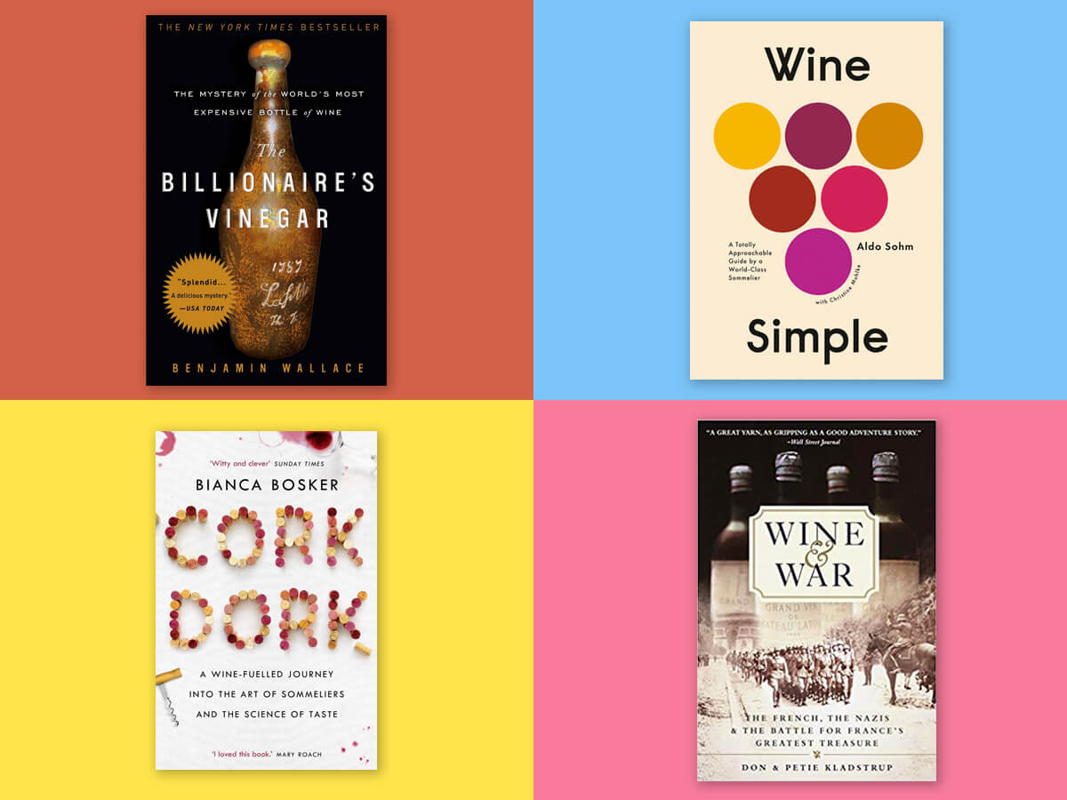 wine books that are new, older, and interesting - gifts for wine lovers