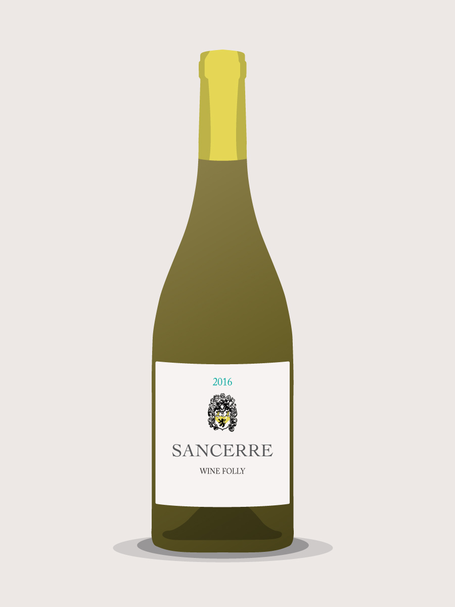 bottle-of-Sancerre-sauvignon-blanc-wine