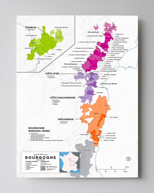 Appellations of Burgundy