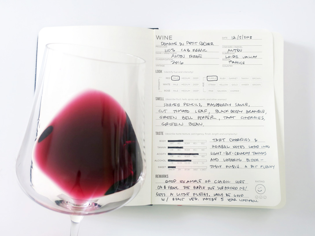 cabernet franc tasting notes