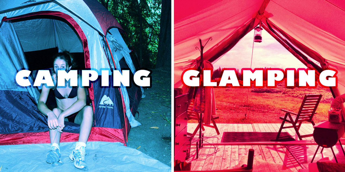 camping-vs-glamping-with-wine