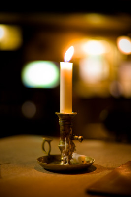 candle light dinner party ideas
