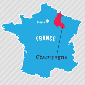 Champagne Region Department Map