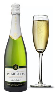 Champagne in a Glass Cava Jaume Serra Cristalino