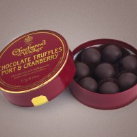 Charbonnel et Walker Port Wine Truffles with Cranberry