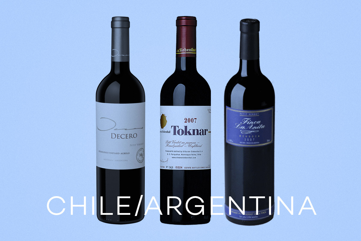 Petit Verdot Wines from Chile and Argentina