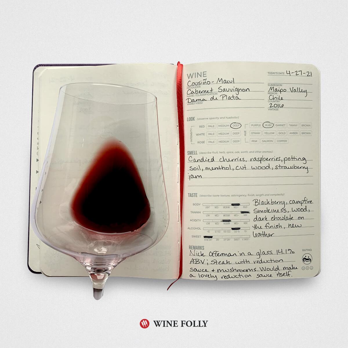 Wine Journal image for Chilean Cabernet Sauvignon
