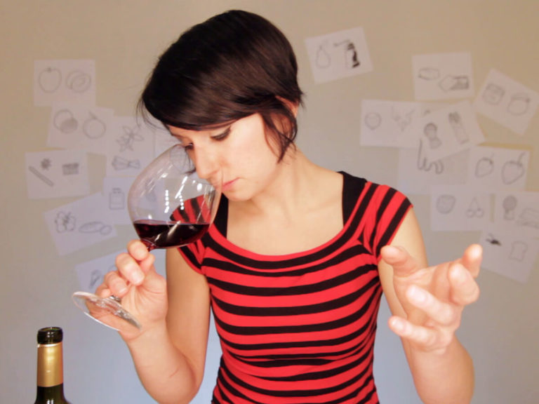 Madeline Puckette in 2012 reviews Chocolate Wine