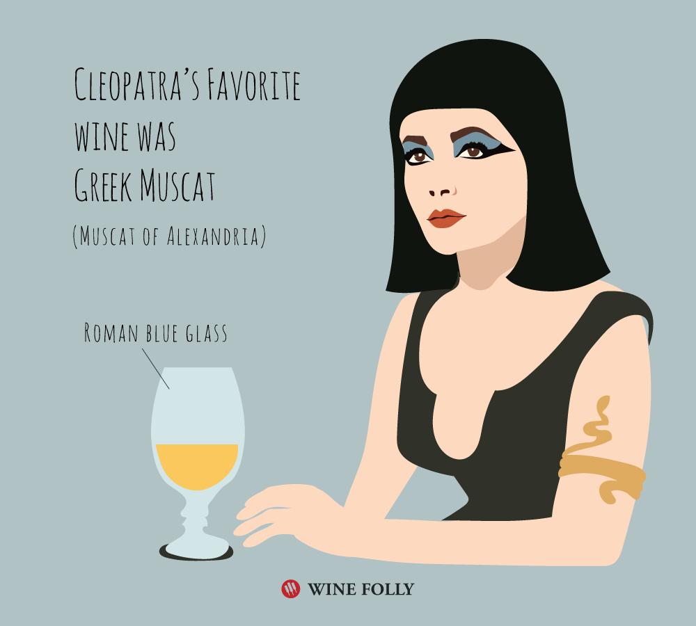 cleopatras-favorite-wine