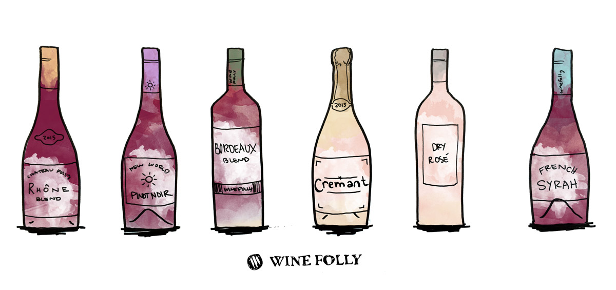 Personality matched wines