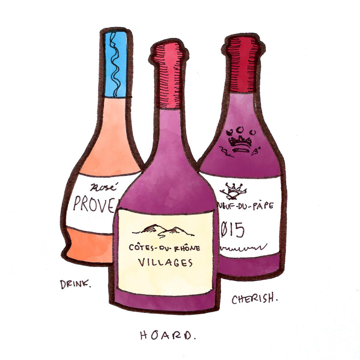 cotes-du-rhone-bottle-illustration-winefolly
