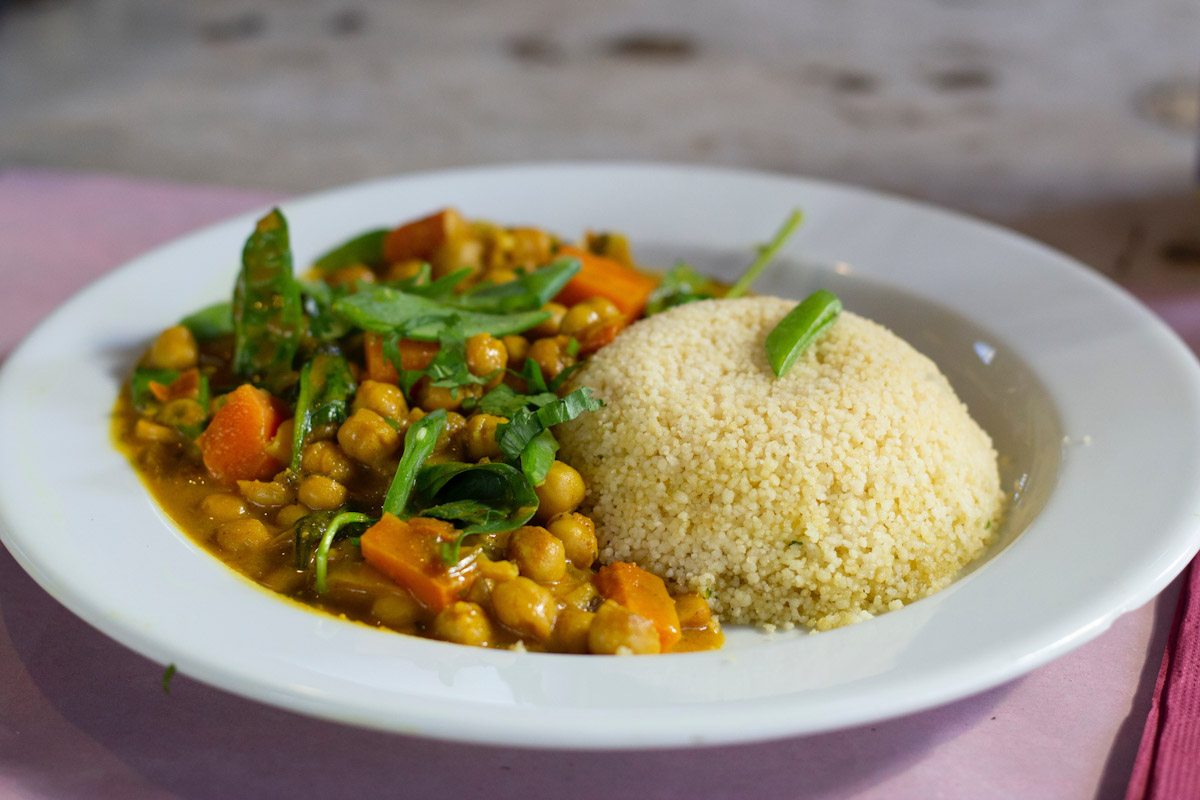 Couscous with vegetables. By Daniela.
