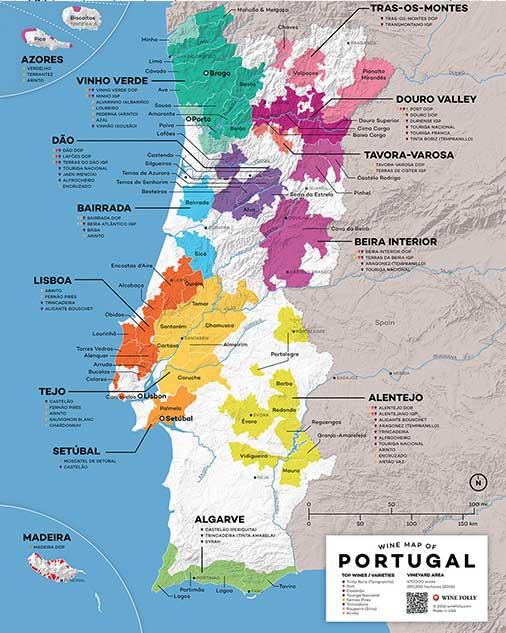 Portugal's Wine Regions