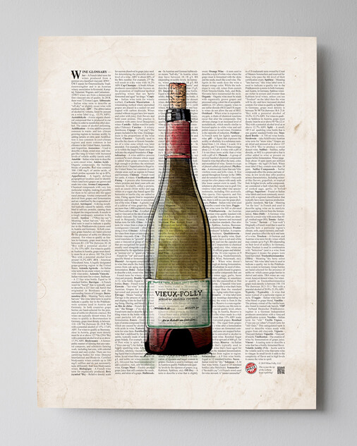 The Wine Glossary Poster