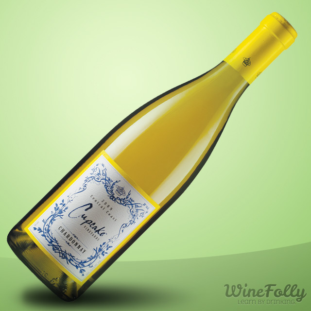 Cupcake Chardonnay is a captivating name