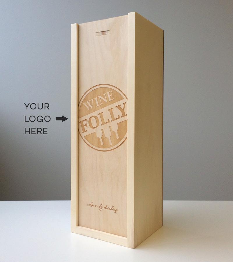 Premium Custom wood cut wine boxes